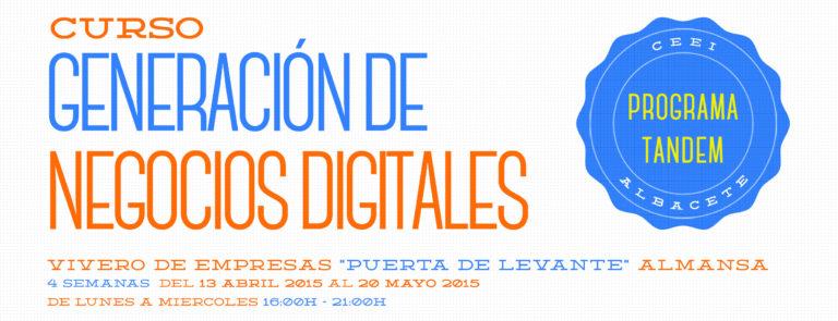 Curso Generación de Negocios Digitales