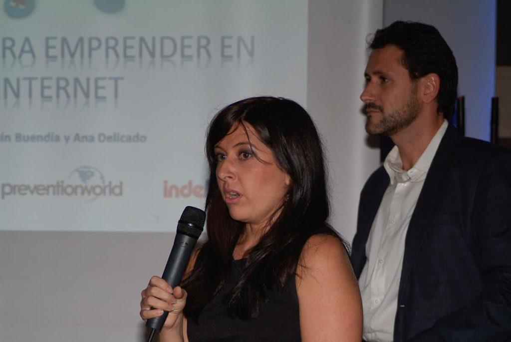 Ana Delicado y Joaquín Buendía